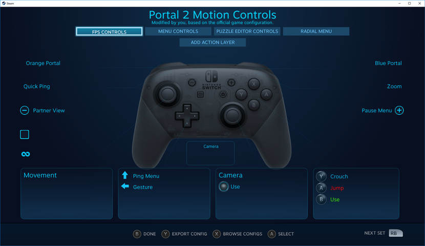 Le Nintendo Switch Pro Controller désormais compatible — Steam