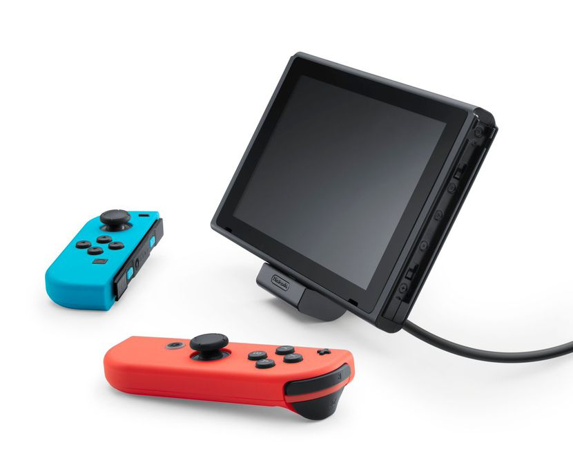 Le support de recharge officiel proposé à 20 dollars — Nintendo Switch