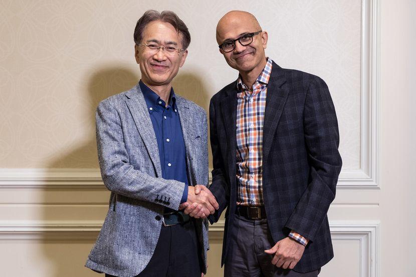 Microsoft et Sony main dans la main pour Microsoft Azure
