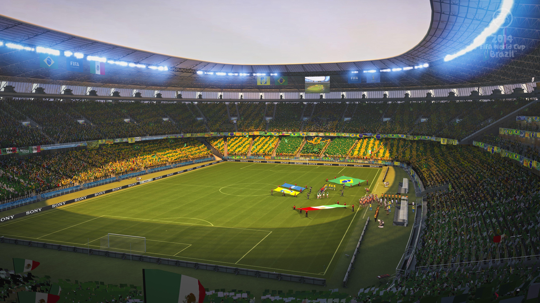 Images du jeu ea sports fifa coupe du monde de la fifa - Jeu de coupe du monde 2014 ...