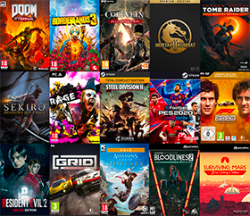 Gamesplanet selection