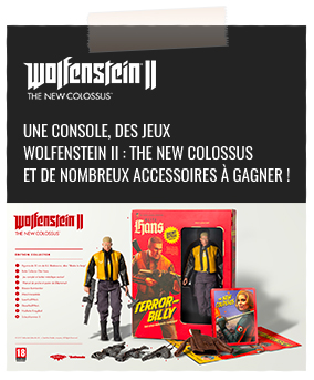 Jeu Concours Wolfenstein II : The New Colossus