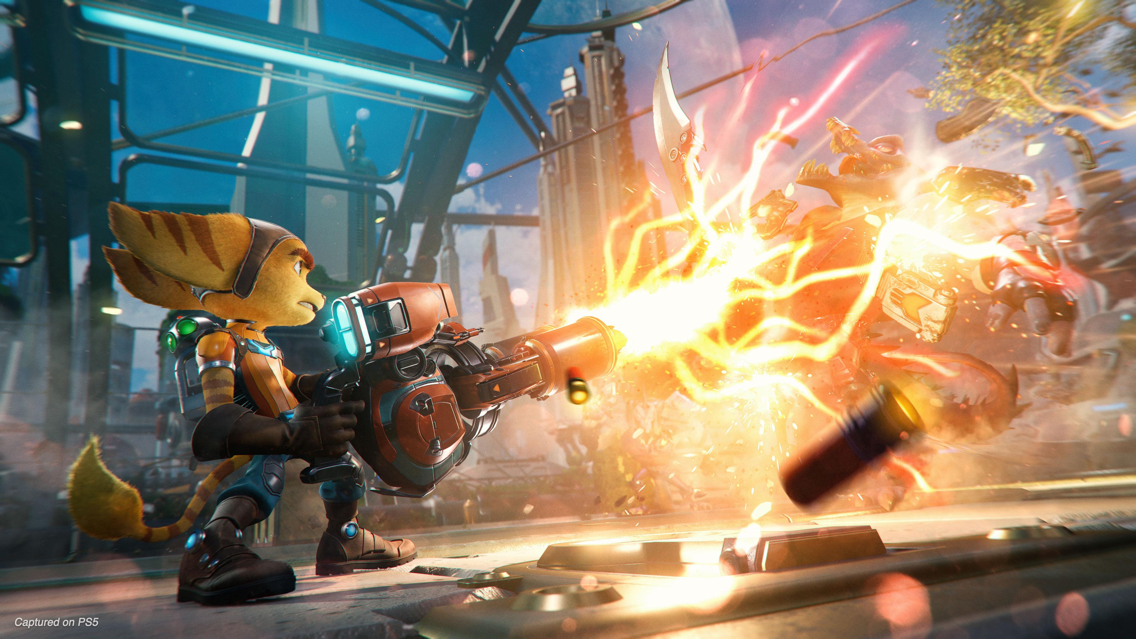 Insomniac dévoile Ratchet & Clank Rift Apart pour le lancement de la PS5 -  Actu - Gamekult