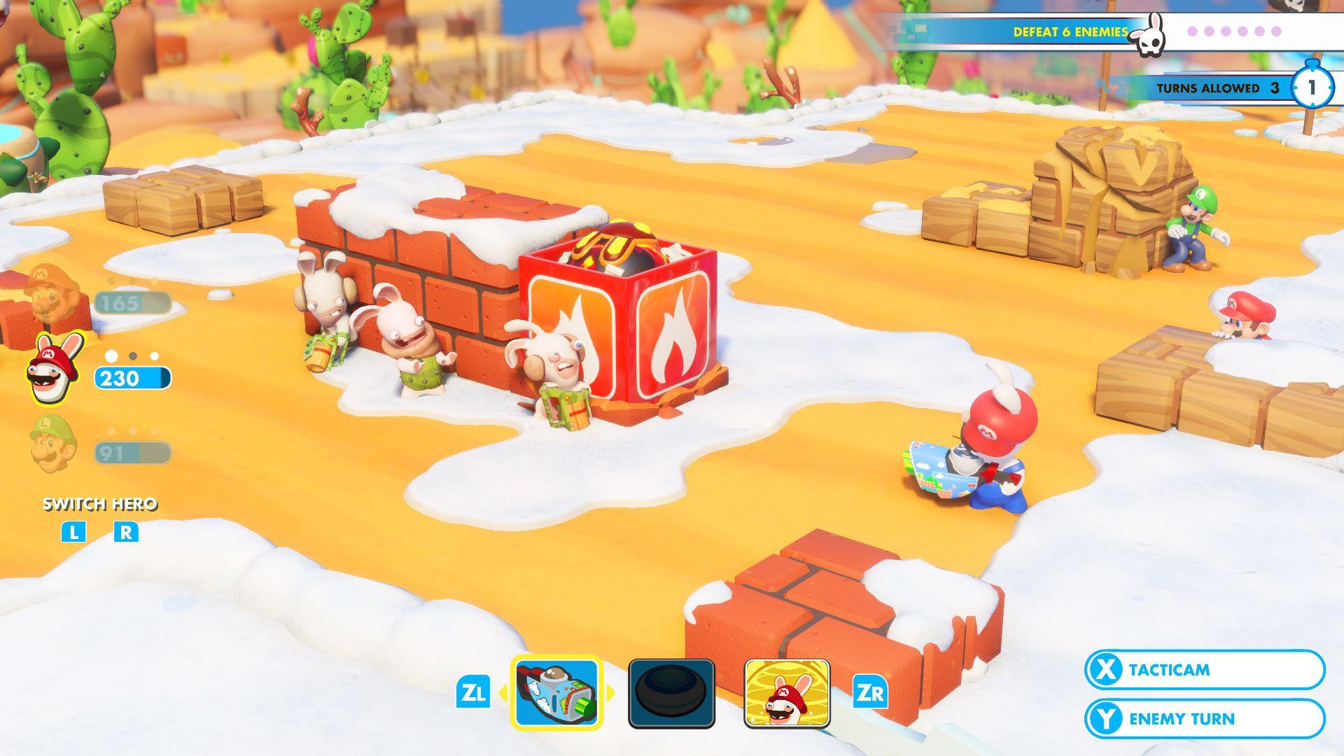 cd7400e5794 Test Mario + The Lapins Crétins Kingdom Battle - Nintendo Switch - Gamekult