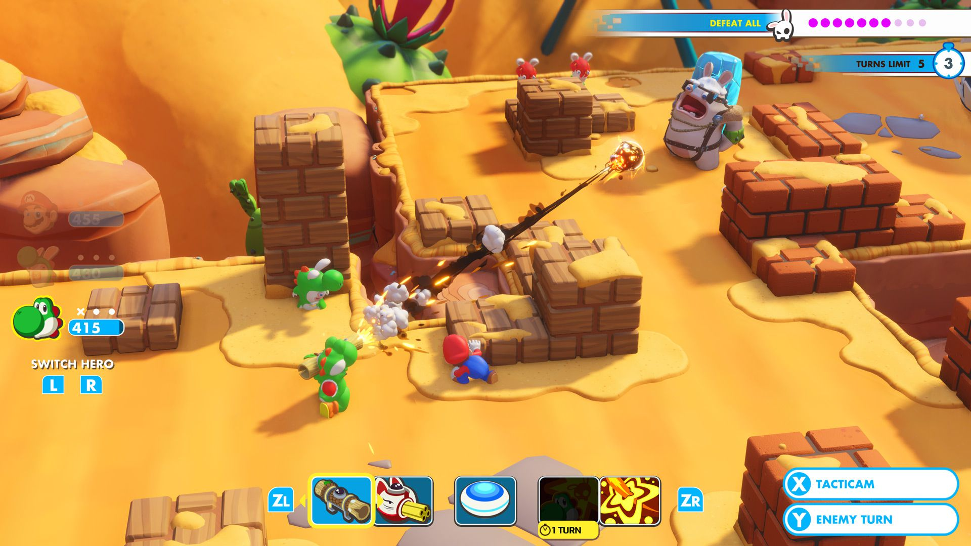 Images Du Jeu Mario The Lapins Crétins Kingdom Battle Gamekult