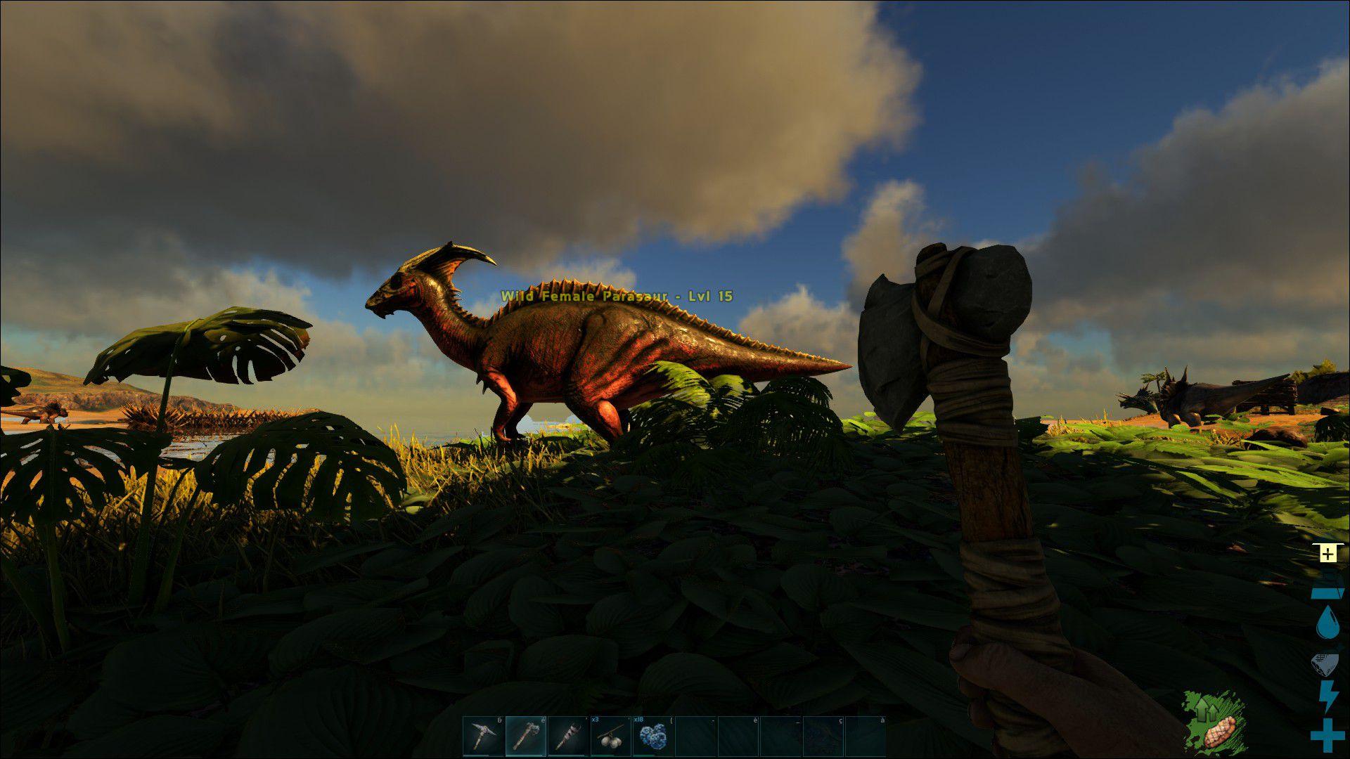images du jeu ark   survival evolved
