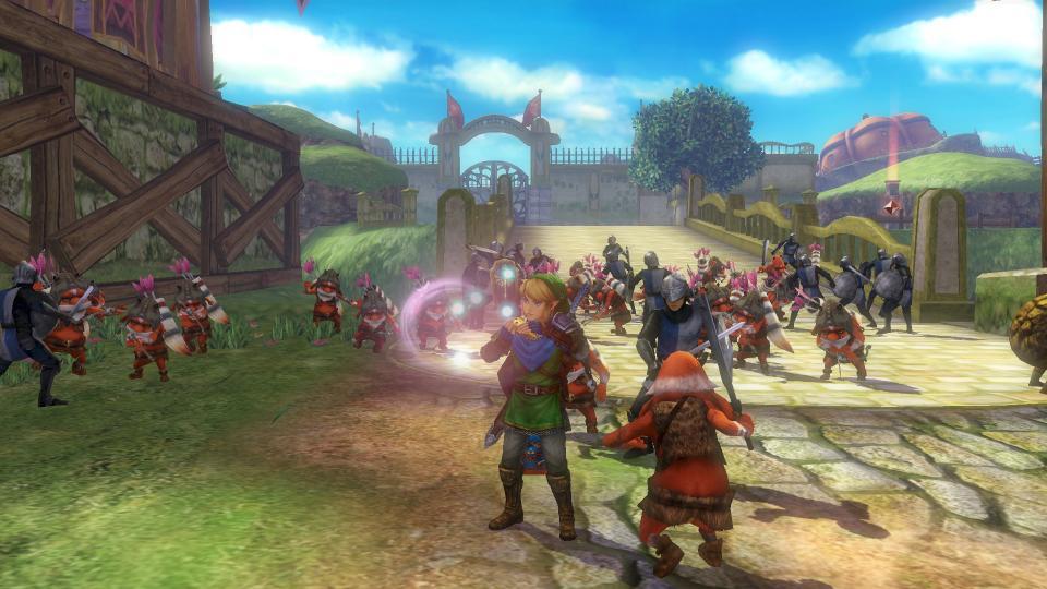 c2be6dc2ea7 Test Hyrule Warriors - Nintendo Switch - Gamekult