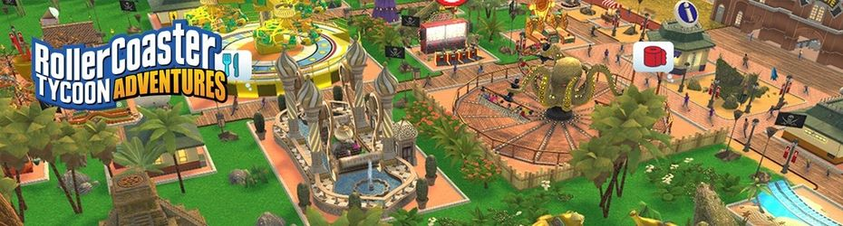 RollerCoaster Tycoon Adventures - Gamekult
