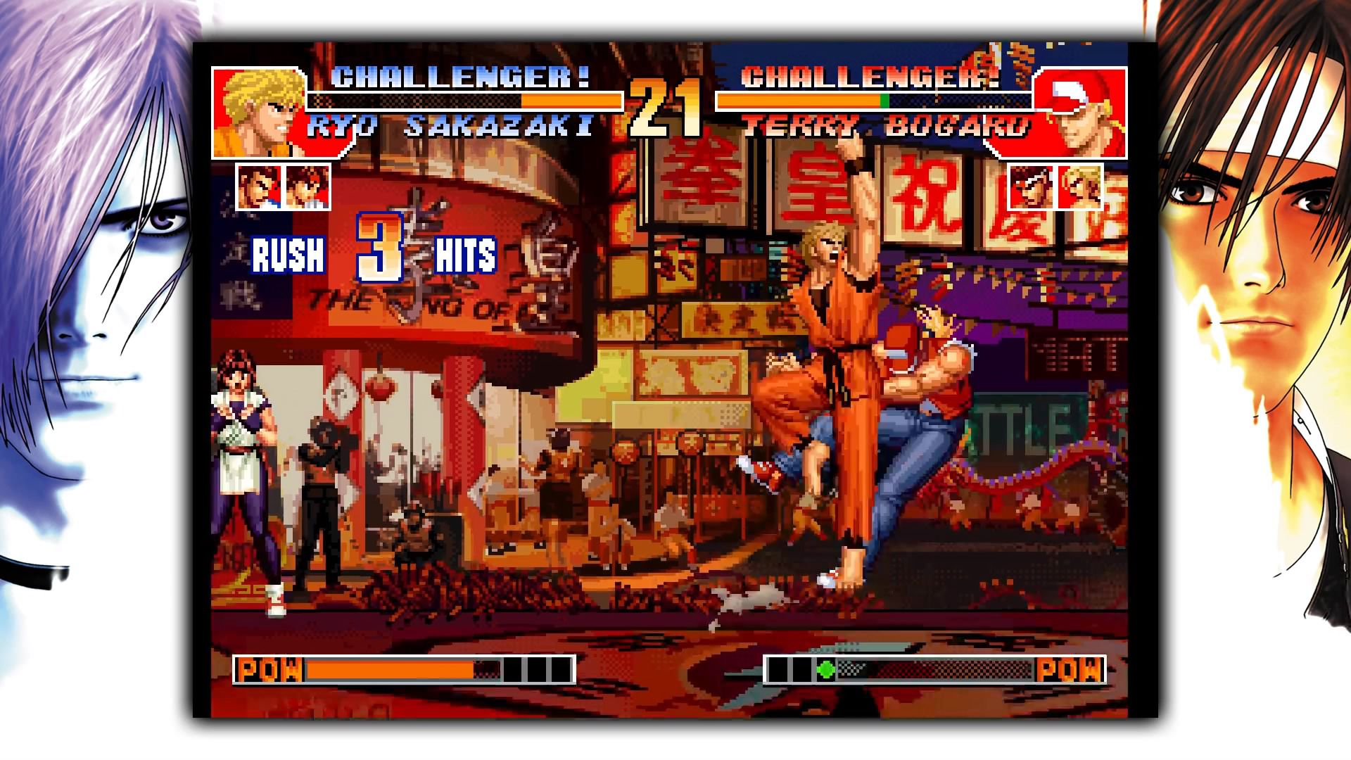 The King Of Fighters 97 Jeu Combat Gamekult