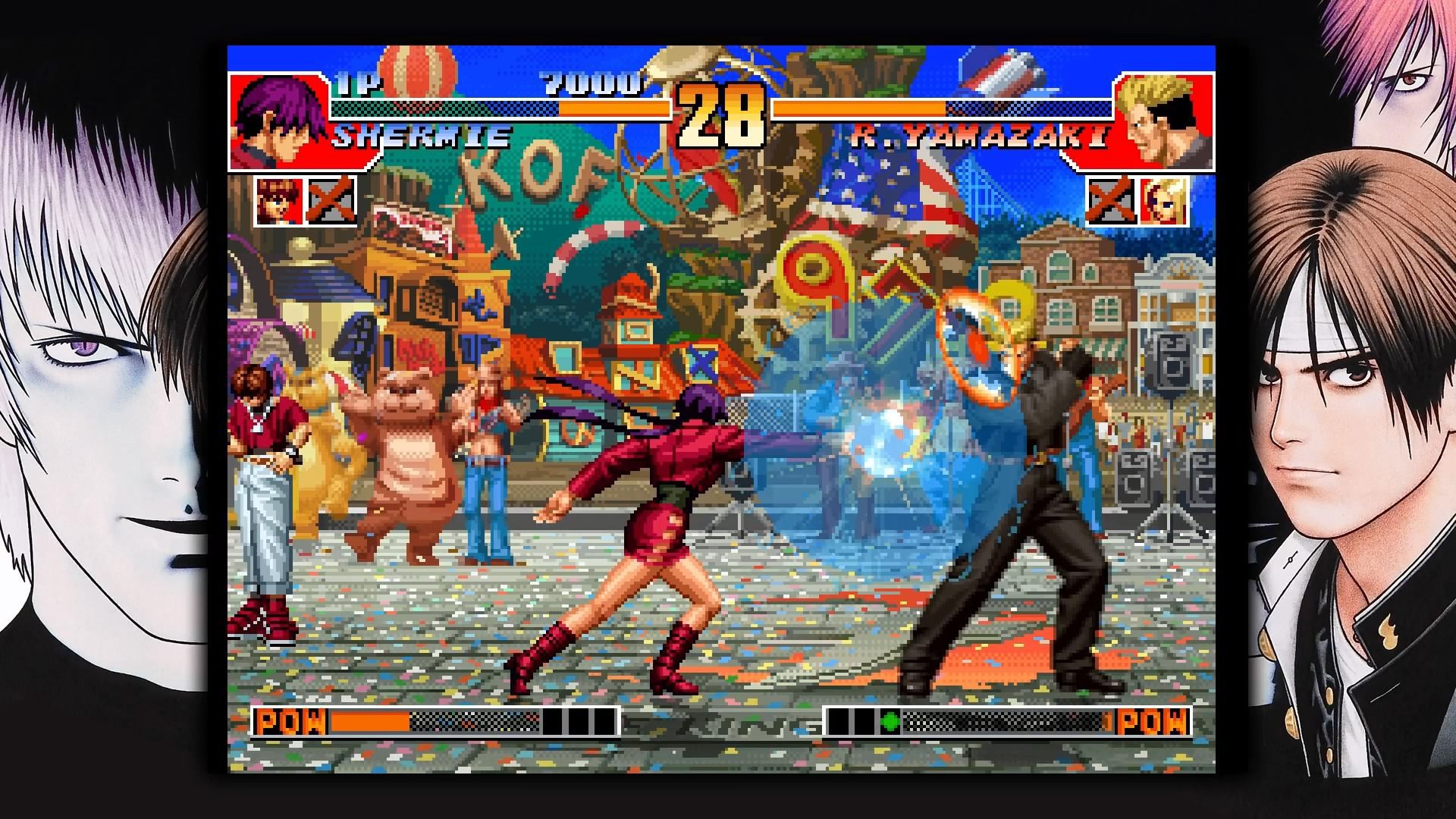 Images Du Jeu The King Of Fighters 97 Gamekult