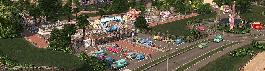 Cities : Skylines - Parklife
