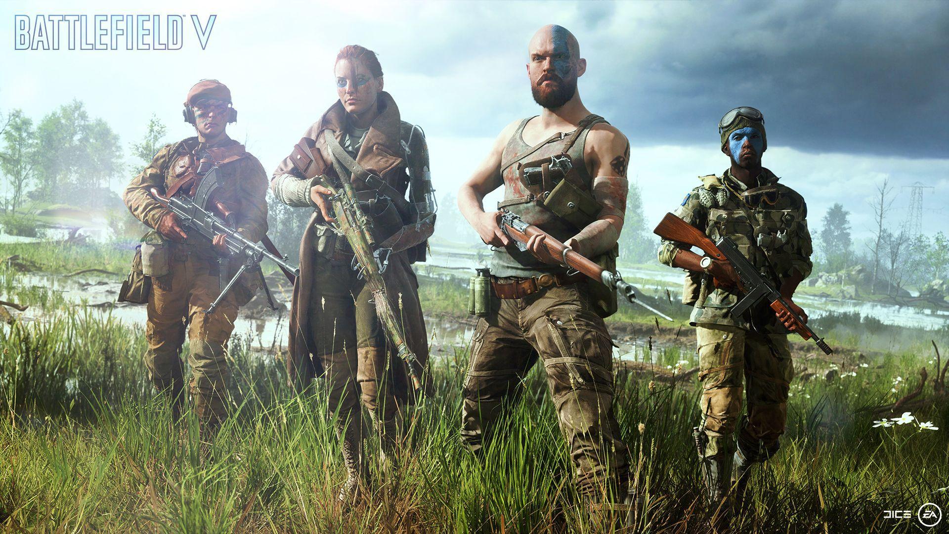 Battlefield V will have a Battle Royale Mode