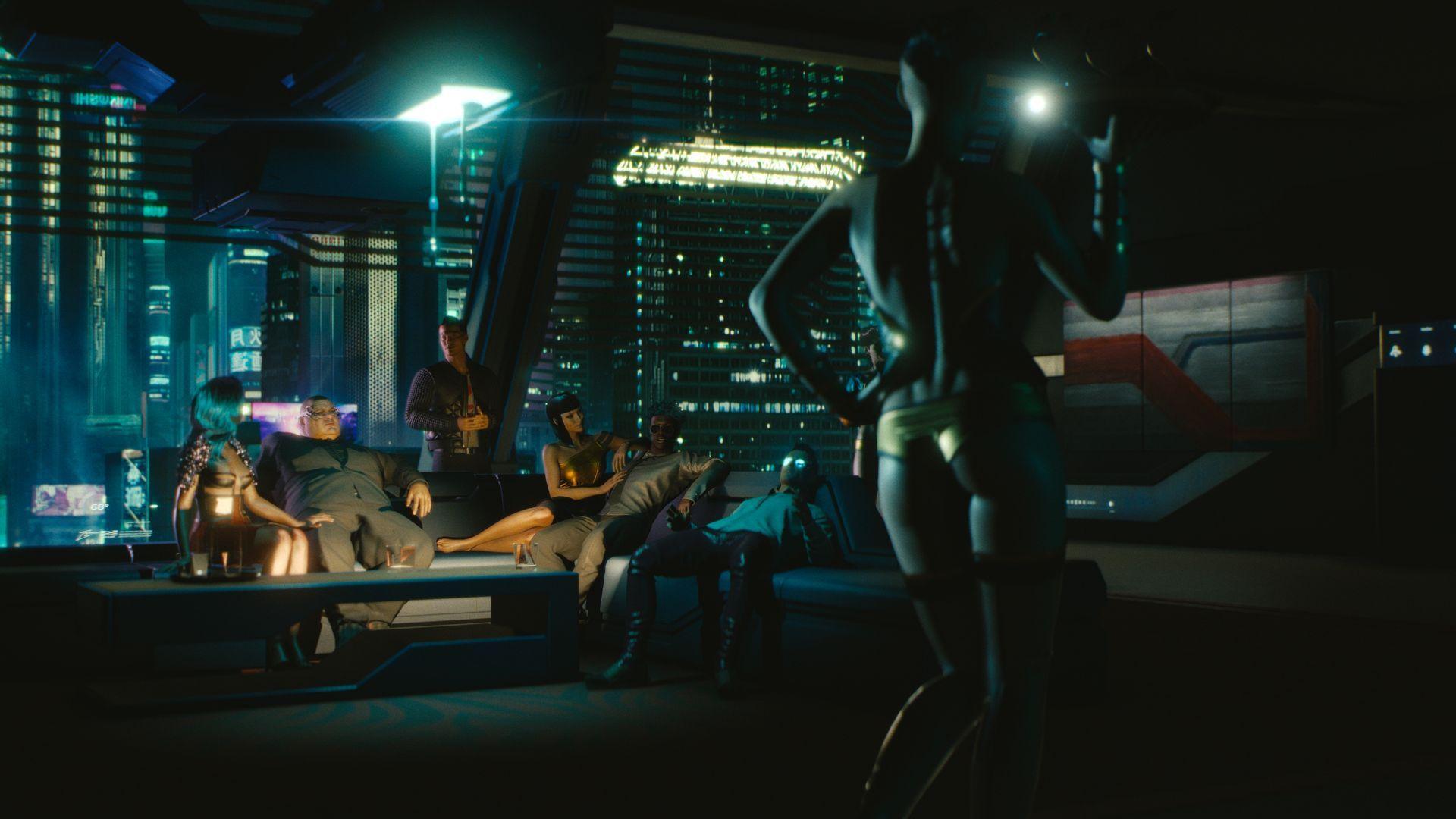 Cyberpunk 2077 Se Jouera En Vue Subjective Avec Un Avatar