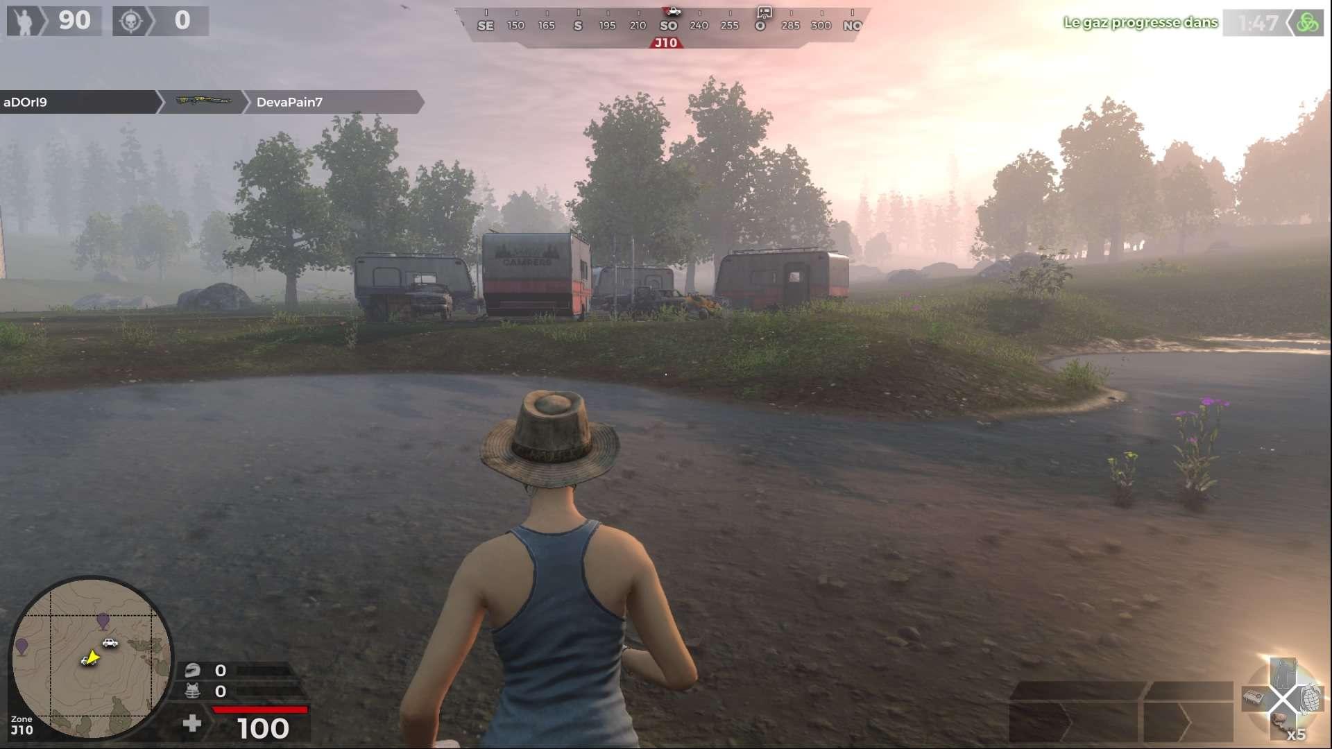 livraison rapide check-out bonne texture Test H1Z1 - PlayStation 4 - Gamekult