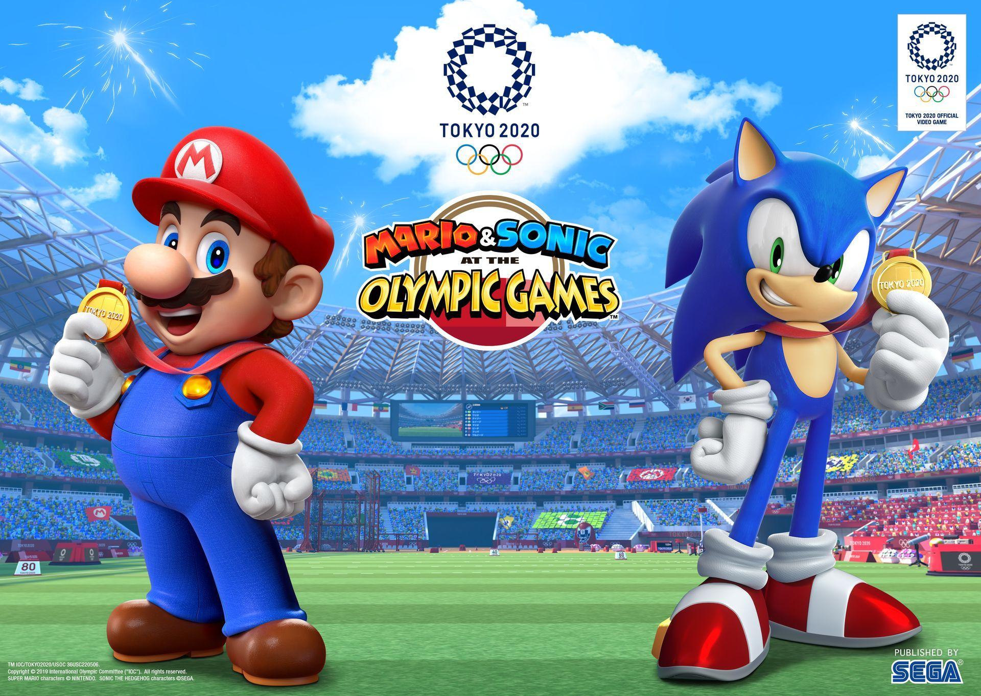 Mario Sonic Aux Jeux Olympiques De Tokyo 2020 Nintendo Switch