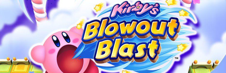 Kirby's Blowout Blast se goinfre en juillet