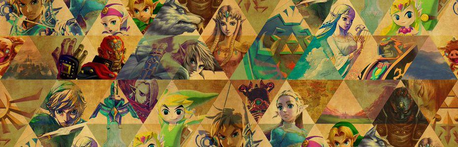 Nintendo dévoile des croquis inédits de Zelda