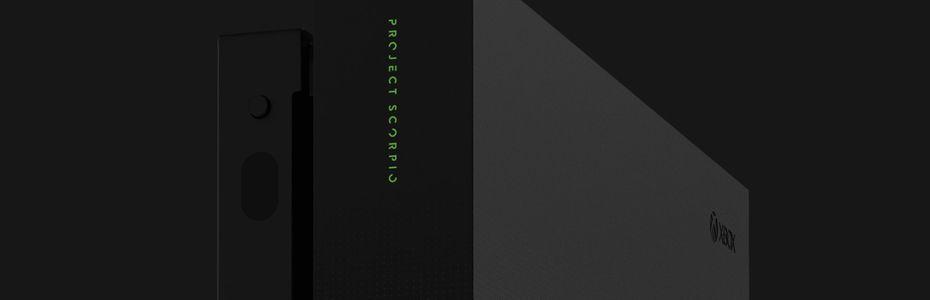 L'annonce de la xbox one x / gamescom 2017 - Un modèle Project Scorpio pour la Xbox One X