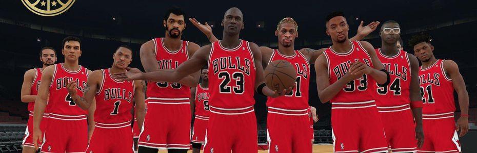 meilleur service 5d8a5 58e81 NBA 2K18 avec les meilleures équipes de tous les temps ...