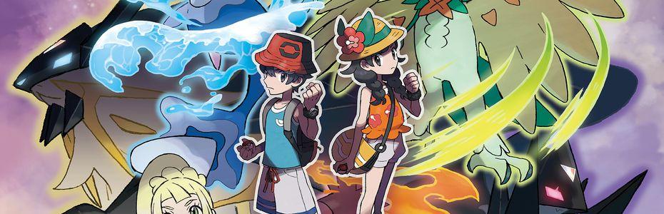 Pokémon Ultra Soleil & Ultra Lune se mettent au surf