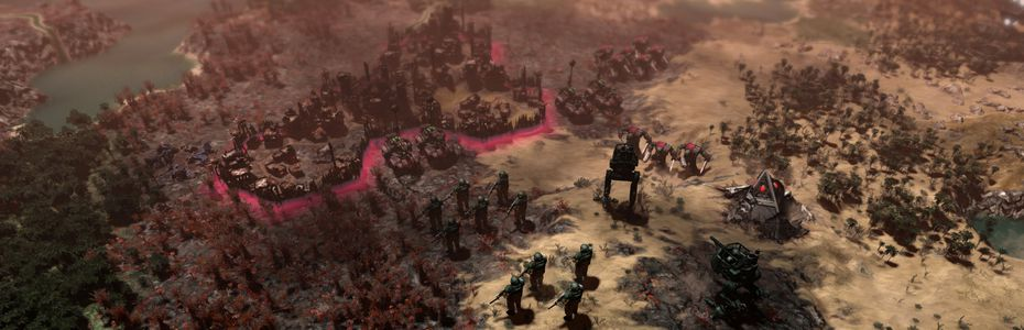 Slitherine annonce le 4X Warhammer 40,000 : Gladius - Relics of War