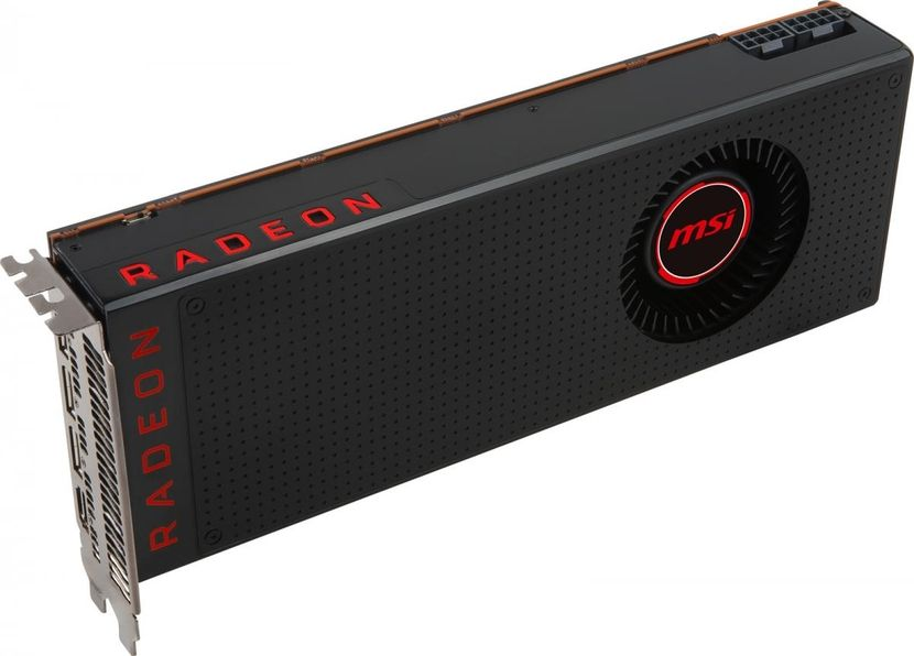 La Radeon RX Vega 56 de MSI reprend le design officiel