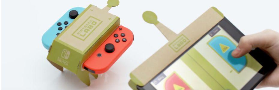 Nintendo Labo, l'annonce en carton de la Switch