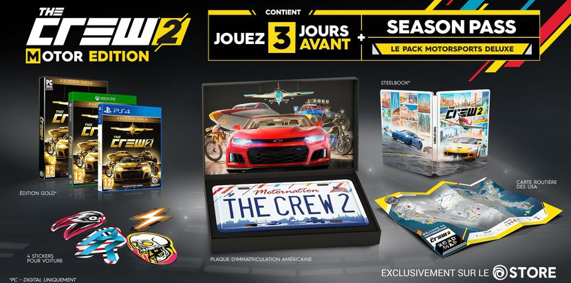 the crew 2 tient sa nouvelle date de sortie actu gamekult. Black Bedroom Furniture Sets. Home Design Ideas