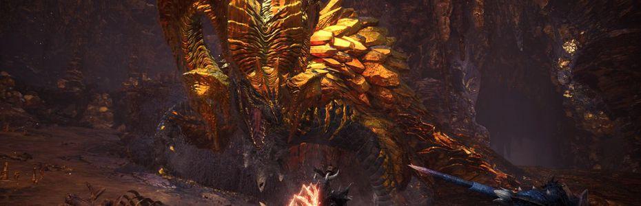 Voici Kulve Taroth, le nouveau dragon ancien de Monster Hunter World