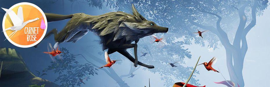 Carnet rose - Lost Ember, un conte animalier qui ne fait pas que crier au loup