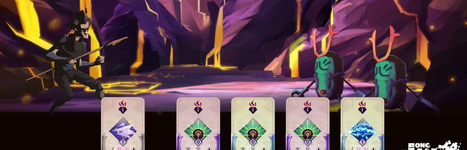 Le studio français Seenapsis présente A Long Way Down, jeu de cartes à dimension RPG