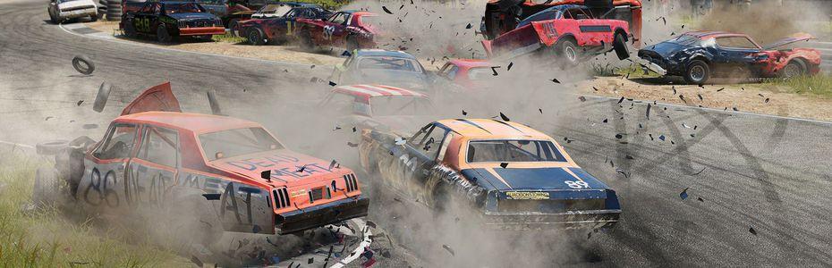 Wreckfest prendra son temps sur PS4 et Xbox One