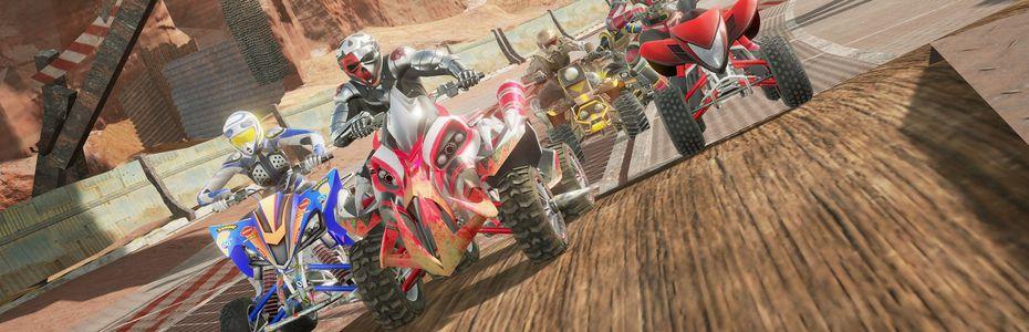 Sega relance les courses de quads en arcade avec ATV Slam