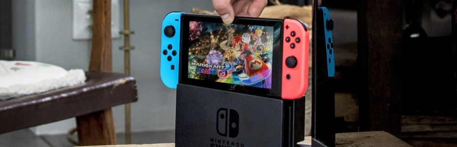 Switch avec Mario Kart 8 Deluxe