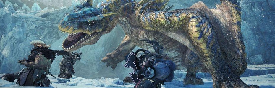 Capcom lâche la bande-annonce E3 de Monster Hunter World : Iceborne