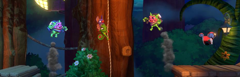 Playtonic illustre les niveaux alternatifs de Yooka-Laylee and the Impossible Lair