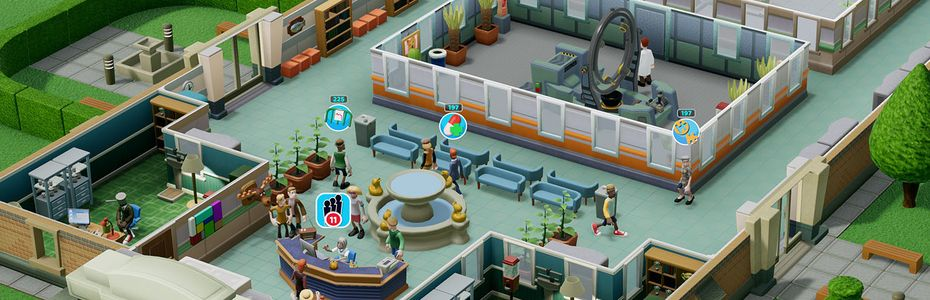 Sega annonce la sortie de Two Point Hospital sur PS4, Xbox One et Switch