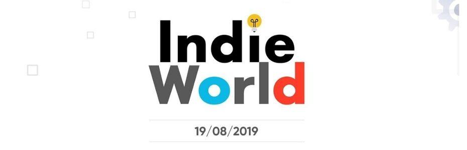 Nintendo programme une nouvelle présentation Indie World pour lundi 19 août