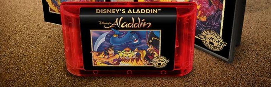 Des cartouches collector pour Aladdin Mega Drive et Le Roi Lion Super NES