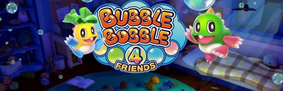 Bubble Bobble 4 Friends s'invite à l'école du skill et inclut le jeu de 1986 en bonus
