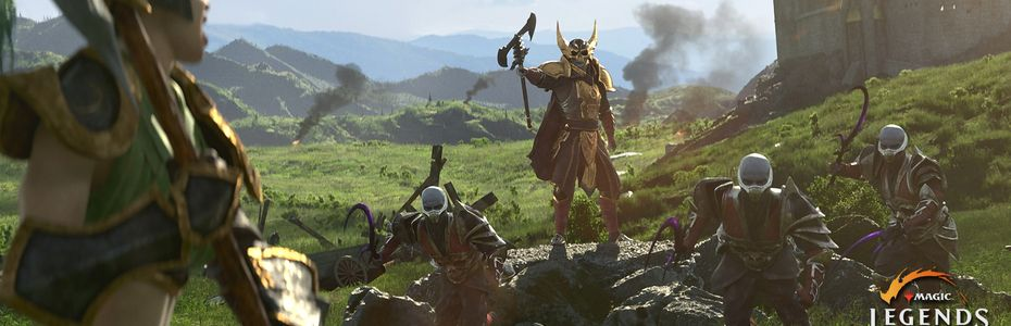 Cryptic Studios développe l'action-RPG MMO Magic : Legends