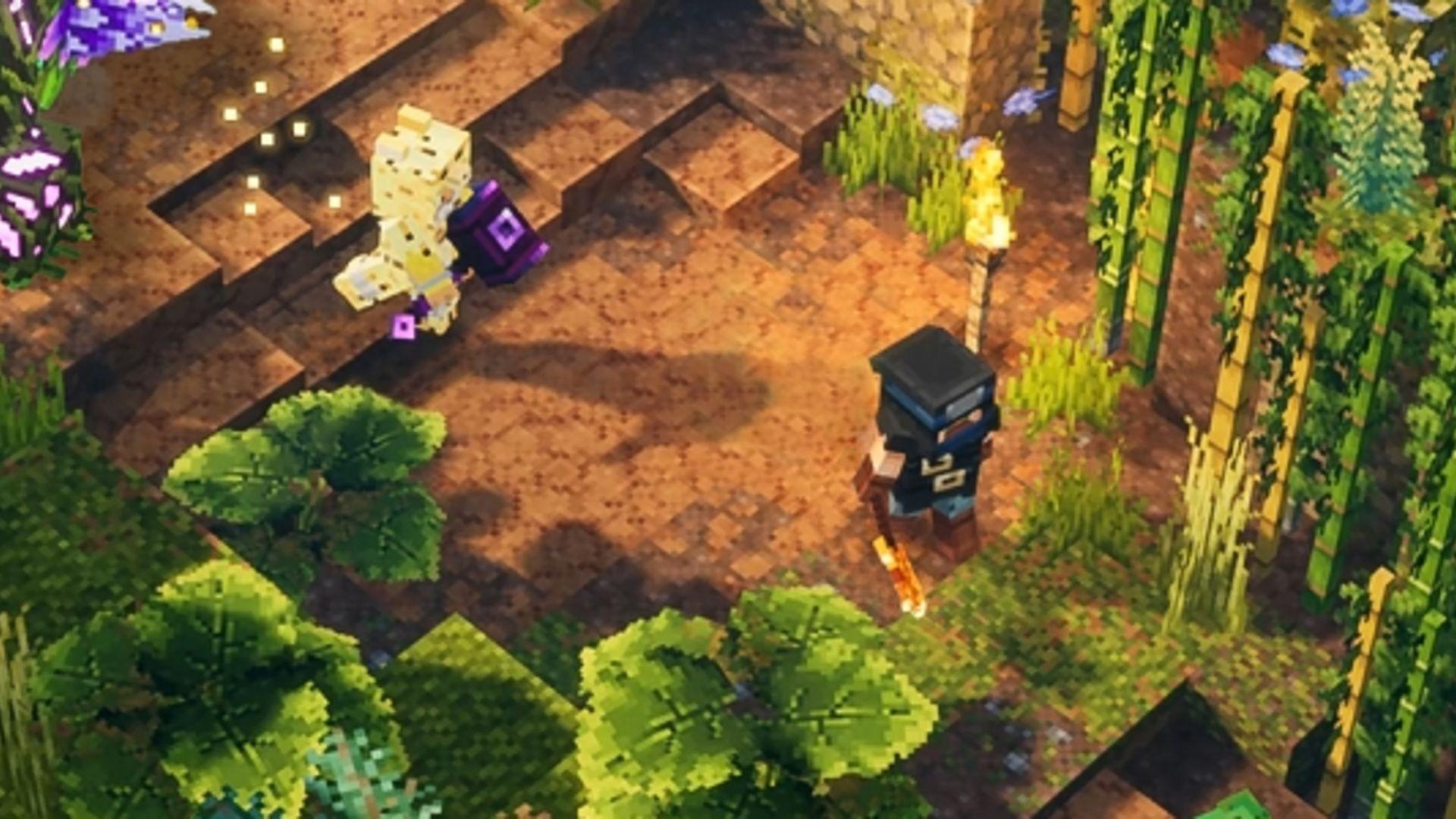 Minecraft Dungeons Le Premier Dlc Pour Juillet Actu Gamekult