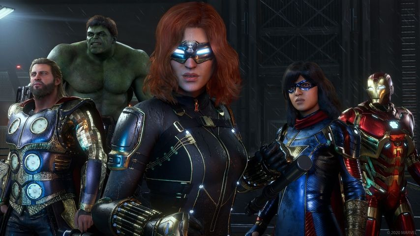 La bêta de Marvel's Avengers aura lieu en août