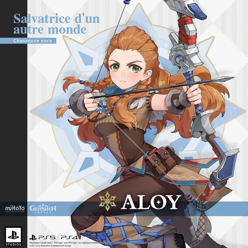 Aloy de Horizon Zero Dawn s'invite aussi dans Genshin Impact