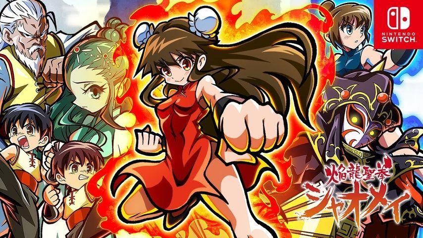 Hommage prononcé à Kung-Fu Master, Fire Dragon Fist Master Xiao-Mei s'annonce sur Switch
