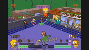 The Simpsons Wrestling