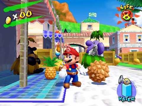 Mario datant ex sur la plage