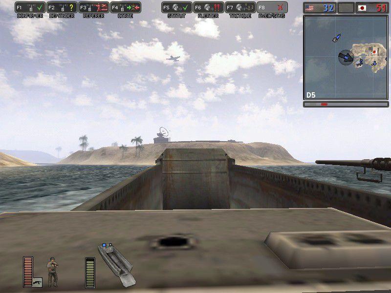 Un petit goût de débarquement... il vous faudra même ouvrir la trappe du bateau :)