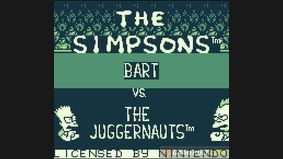 The Simpsons : Bart vs. the Juggernauts