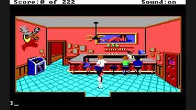 Leisure Suit Larry : The Land of the Lounge Lizards